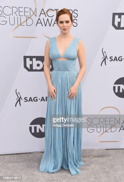 Elizabeth McLaughlin attends the 25th Annual Screen ActorsGuild Awards at The Shrine Auditorium on January 27 2019 in Los Angeles California 480645