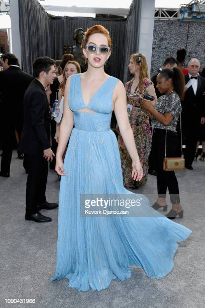 Elizabeth McLaughlin attends the 25th Annual Screen ActorsGuild Awards at The Shrine Auditorium on January 27 2019 in Los Angeles California