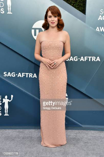 Elizabeth McLaughlin attends the 26th Annual Screen ActorsGuild Awards at The Shrine Auditorium on January 19 2020 in Los Angeles California 721430
