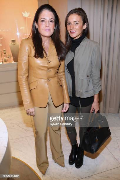 Elizabeth Meigher and Kick Kennedy attend Quest Nirav Modi Champagne Reception on November 2 2017 in New York City