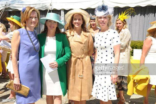 Elizabeth Miller Erika Matt Andrea Hagan and Martha Glass at 36th Annual Frederick Law Olmsted Awards Luncheon Central Park Conservancy at The...