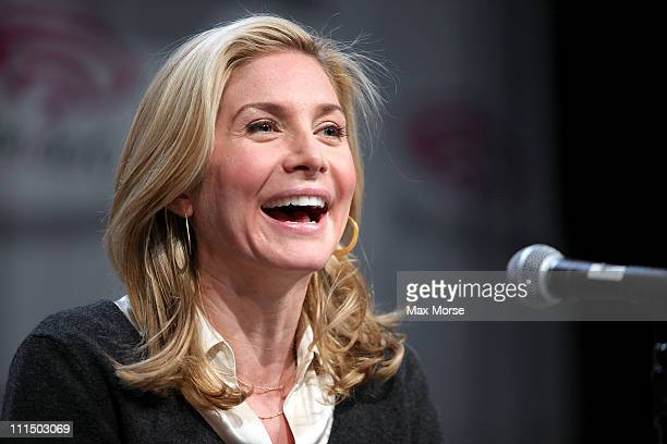 Elizabeth Mitchell attends 2011 WonderCon at Moscone Convention Center on April 3 2011 in San Francisco California