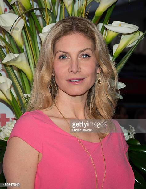 Elizabeth Mitchell attends the MIPTV 2015 opening party at Hotel Martinez on April 13 2015 in Cannes France