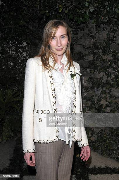 Elizabeth Moarre arrives to the Women In Film 2nd Annual PreOscar® Cocktail Party at the home of Peter and Tara Guber in Bel Air