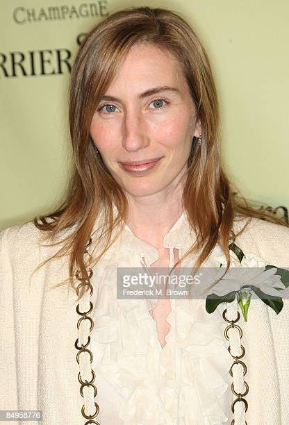 Elizabeth Moarre attends the second annual Women In Film PreOscar Cocktail Party at the Peter and Tara Guber estate on February 20 2009 in Beverly...
