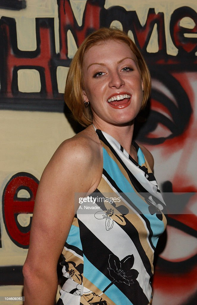 Elizabeth Moore during Movieline Magazine and California Artists for Humanity at Nacional in Los Angeles, California, United States.