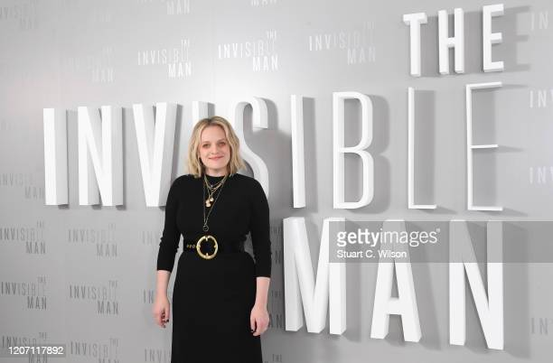 Elizabeth Moss attends the The Invisible Man Photocall at Soho Hotel on February 18 2020 in London England