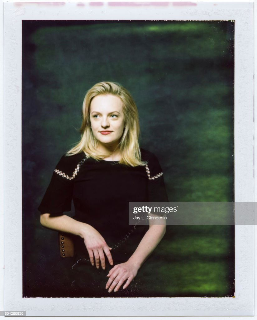 Elizabeth Moss, from the film 'The Square,' is photographed on polaroid film at the L.A. Times HQ at the 42nd Toronto International Film Festival, in Toronto, Ontario, Canada, on September 10, 2017.