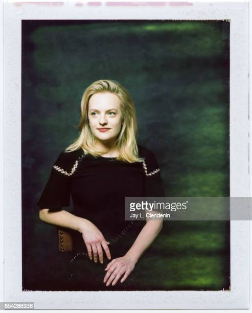 Elizabeth Moss from the film 'The Square' is photographed on polaroid film at the LA Times HQ at the 42nd Toronto International Film Festival in...