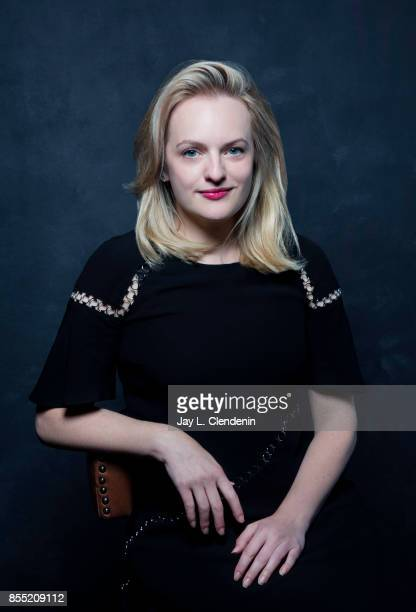 Elizabeth Moss from the film 'The Square' poses for a portrait at the 2017 Toronto International Film Festival for Los Angeles Times on September 10...