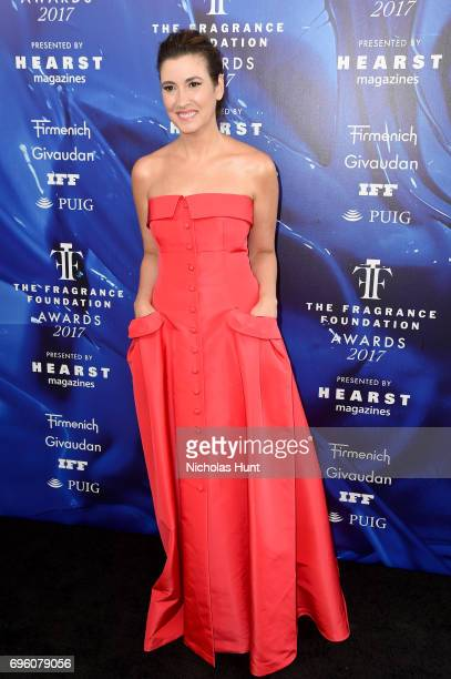 Elizabeth Musmanno attends the 2017 Fragrance Foundation Awards Presented By Hearst Magazines at Alice Tully Hall on June 14 2017 in New York City