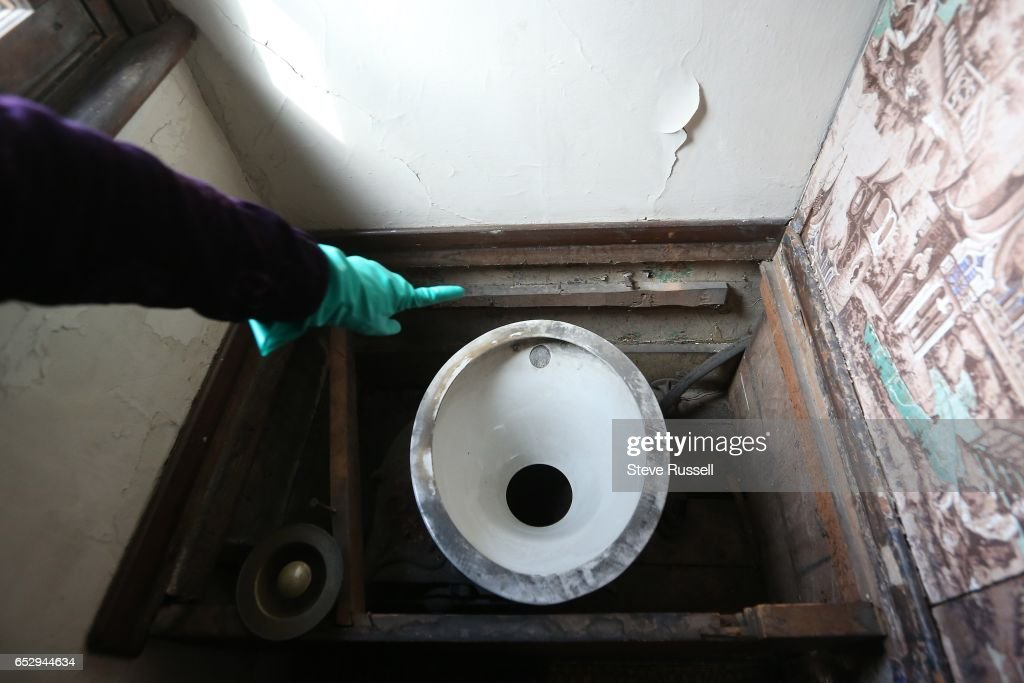 Examination of Toronto's oldest surviving toilet