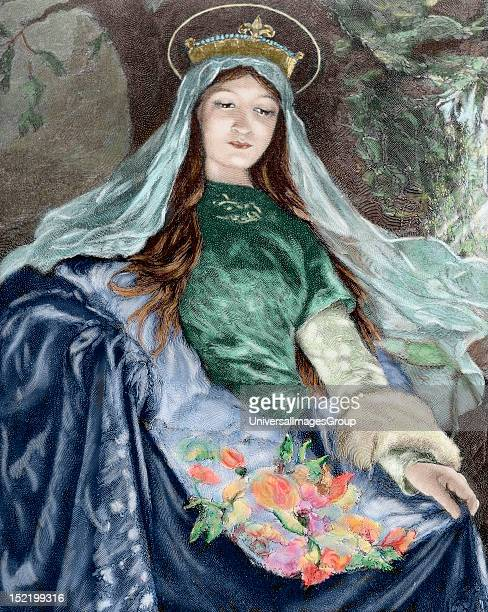 Elizabeth of Hungary Princess of the Kingdom of Hungary Countess of Thuringia Germany and Catholic saint one of the first members of the newlyfounded...