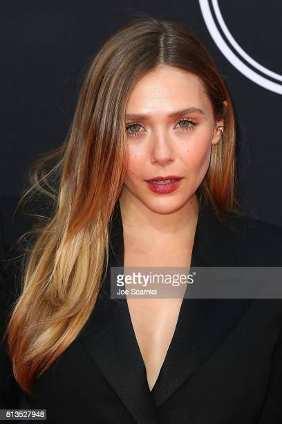 Elizabeth Olsen arrives at the at the 2017 ESPYS at Microsoft Theater on July 12 2017 in Los Angeles California