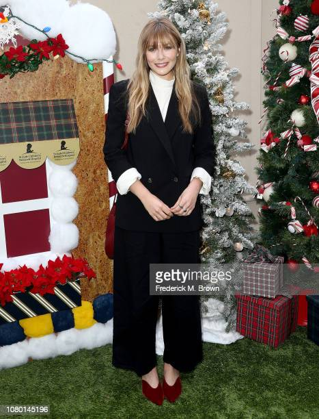 Elizabeth Olsen attends Brooks Brothers Host Annual Holiday Celebration in Los Angeles to Benefit St. Jude at the Beverly Wilshire Four Seasons Hotel...