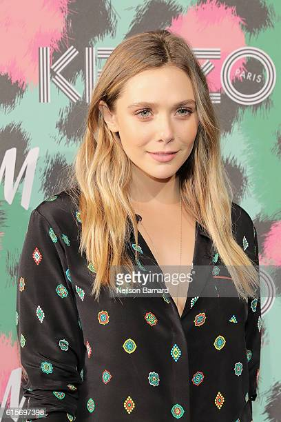 Elizabeth Olsen attends KENZO x HM Launch Event Directed By JeanPaul Goude' at Pier 36 on October 19 2016 in New York City