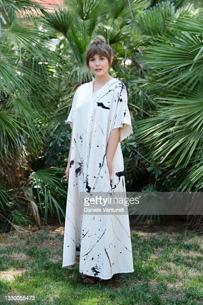 Elizabeth Olsen attends the Filming Italy Festival at Forte Village Resort on July 22, 2021 in Santa Margherita di Pula, Italy.