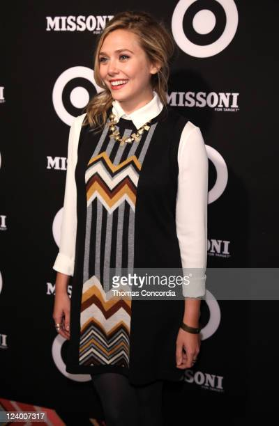 Elizabeth Olsen attends the Missoni for Target Private Launch Event on September 7 2011 in New York City