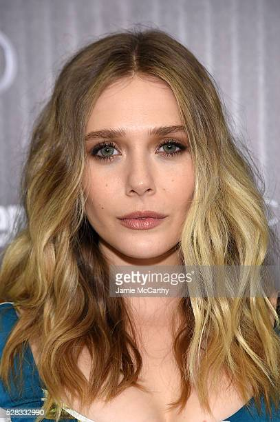 Elizabeth Olsen attends the screening Of Marvel's 'Captain America Civil War' hosted by The Cinema Society with Audi FIJI at Henry R Luce Auditorium...