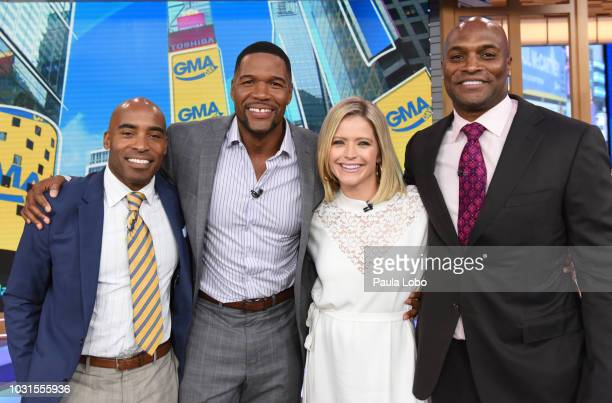 GMA DAY Elizabeth Olsen is the guest Monday September 10 2018 on the new GMA DAY with cohosts Michael Strahan and Sara Haines GMA Day airs...