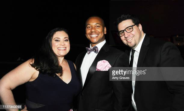 Elizabeth O'Neill Rich M King and Steve Rosenthal attend the Charmaine Blake and the HOLLYWOOD STARS GALA™ Oscar® Viewing Party at The Beverly Hilton...