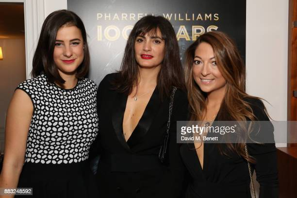 Elizabeth Parte Jessica LemariePires and Bethani StainfieldBruce Pearmine attend as LOUIS XIII and Dylan Jones GQ Editor in Chief cohost Intimate...