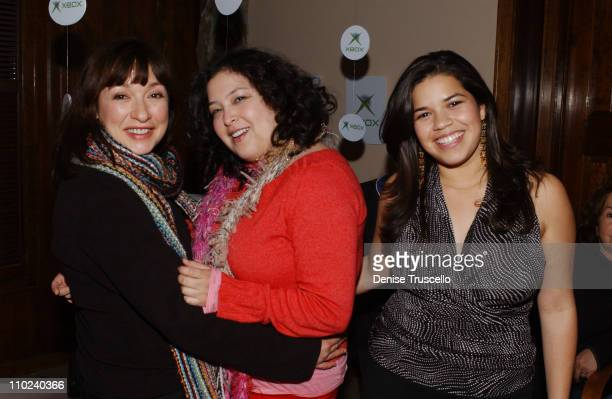 Elizabeth Pena, Georgina Garcia Reidel and America Ferrera