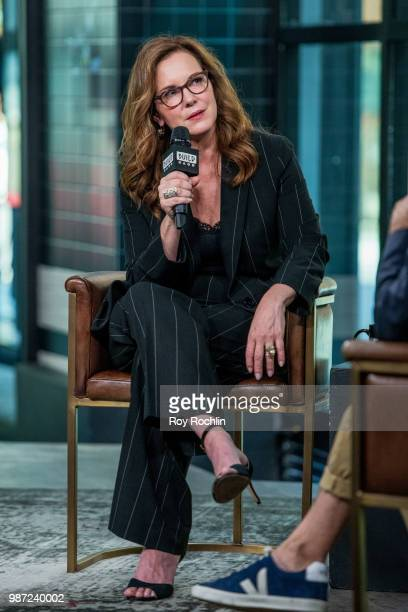 Elizabeth Perkins discusses Sharp Objects at Build Studio on June 29 2018 in New York City