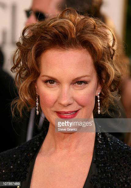 Elizabeth Perkins during 64th Annual Golden Globe Awards Arrivals at Beverly Hilton in Beverly Hills CA United States