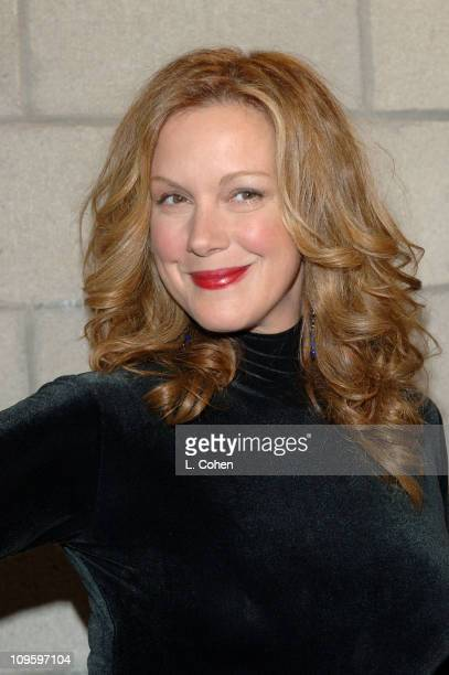Elizabeth Perkins during CBS/Paramount/UPN/Showtime/King World 2006 TCA Winter Press Tour Party Red Carpet at The Wind Tunnel in Pasadena California...