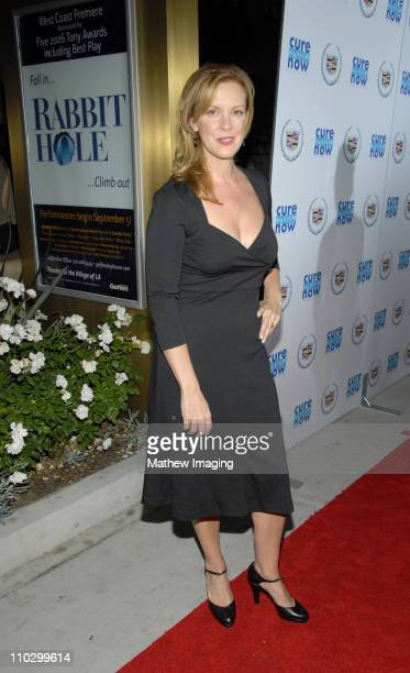 Elizabeth Perkins during Cure Autism Now Acts of Love Arrivals at The Geffen Playhouse in Westwood California United States