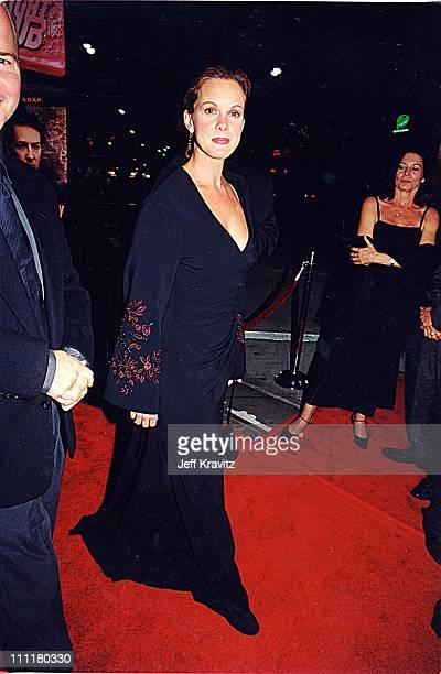 Elizabeth Perkins during Fight Club Premiere in Los Angeles California United States