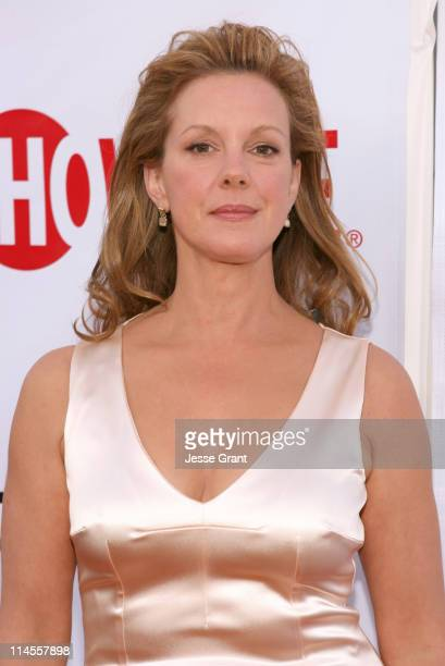 Elizabeth Perkins during 'Weeds' Season Two Premiere Arrivals at The Egyptian Theatre in Hollywood California United States