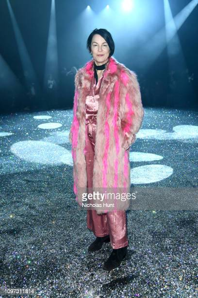 Elizabeth Peyton attends the Sies Marjan FW'19 Runway Show at SIR Stage on February 10 2019 in New York City