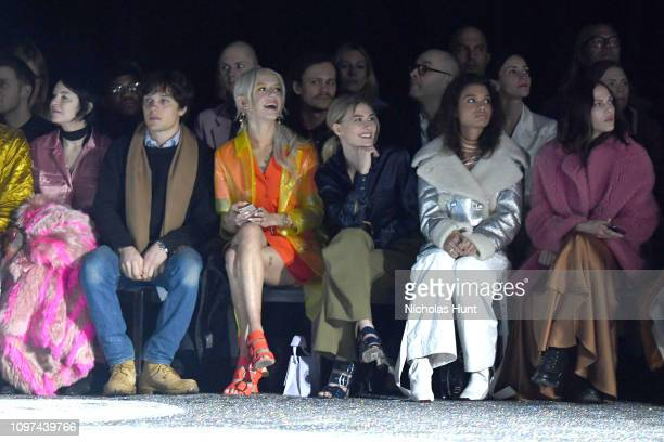 Elizabeth Peyton Theo Wenner Bria Vinaite Sofia Hublitz Helena Howard and Aymeline Valade attend the Sies Marjan FW'19 Runway Show at SIR Stage on...