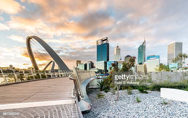 Elizabeth Quay, Perth, Western Australia/ Australia and people