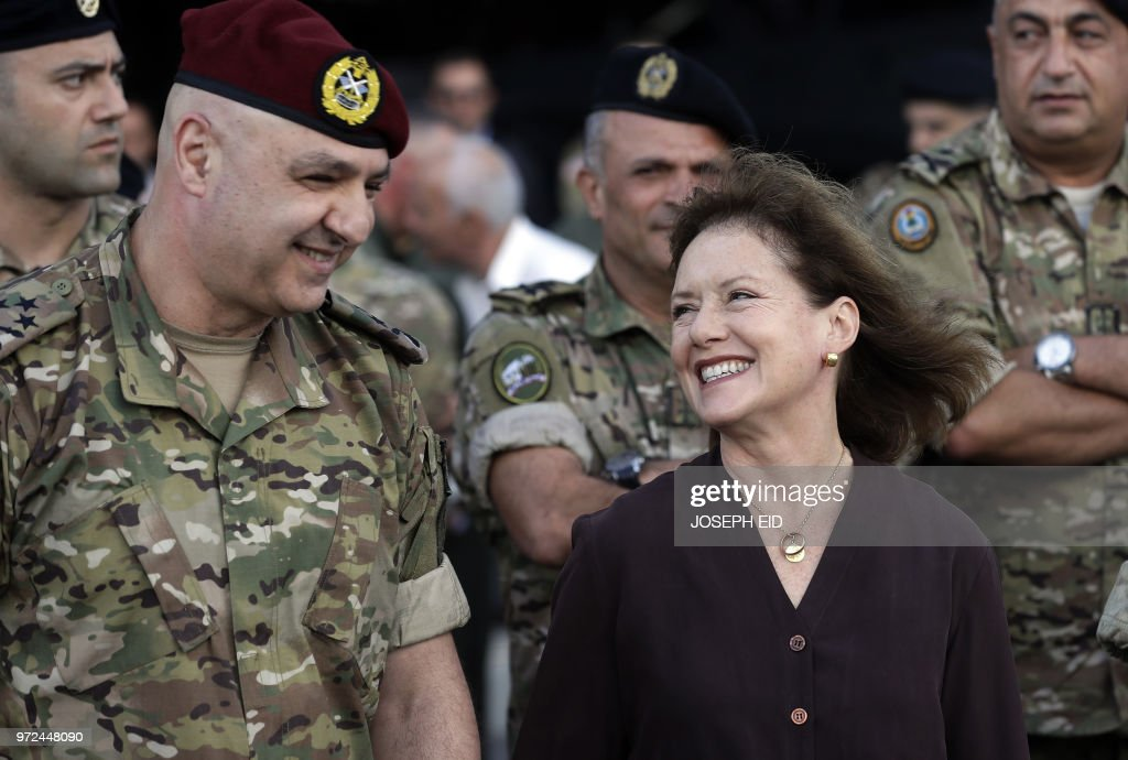 LEBANON-US-MILITARY : News Photo