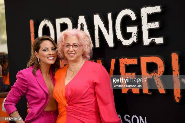 Elizabeth Rodriguez and creator and executive producer Jenji Kohan attends the Orange Is The New Black Final Season World Premiere at Alice Tully...