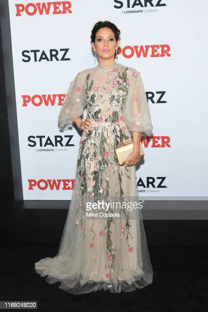 Elizabeth Rodriguez attends the Power Final Season World Premiere at The Hulu Theater at Madison Square Garden on August 20 2019 in New York City
