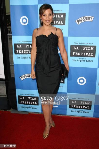 Elizabeth Rodriguez during Film Independent's Los Angeles Film Festival Opening Night 'The Devil Wears Prada' at Mann Village Theatre in Westwood...