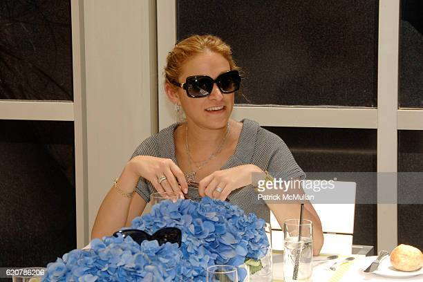 Elizabeth Rosenthal attends DAVID YURMAN Luncheon in Celebration of the Andre Agassi Foundation at CORE 66 East 55th St on July 29 2008 in New York...