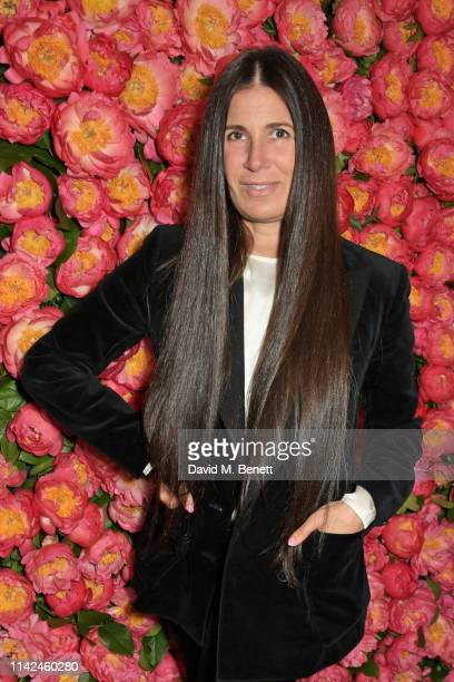 Elizabeth Saltzman attends a private dinner hosted by Michael Kors to celebrate the new Collection Bond St Flagship Townhouse opening on May 9 2019...