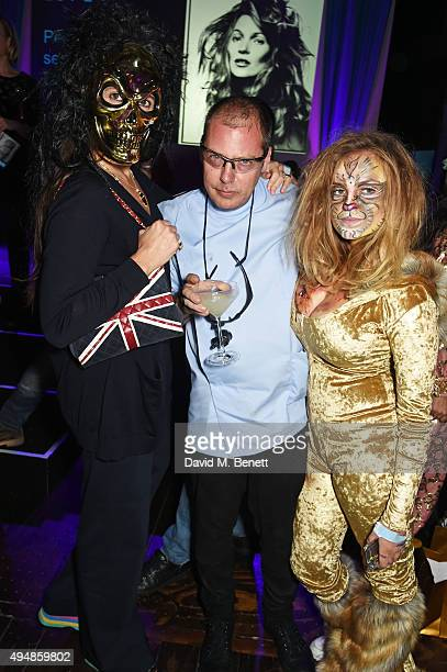 Elizabeth Saltzman Matthew Freud and Charlotte Emma Freud attend The Unicef UK Halloween Ball raising vital funds to support Unicef's lifesaving work...