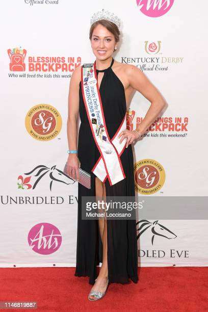 Elizabeth Seewar attends the 145th Kentucky Derby Unbridled Eve Gala at The Galt House Hotel Suites Grand Ballroom on May 03 2019 in Louisville...