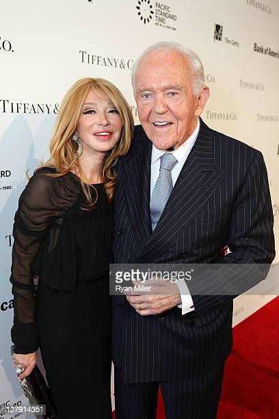 Elizabeth Segerstrom and Henry Segerstrom arrive during the Pacific Standard Time Art in LA 19451980 opening event held at the Getty Center on...