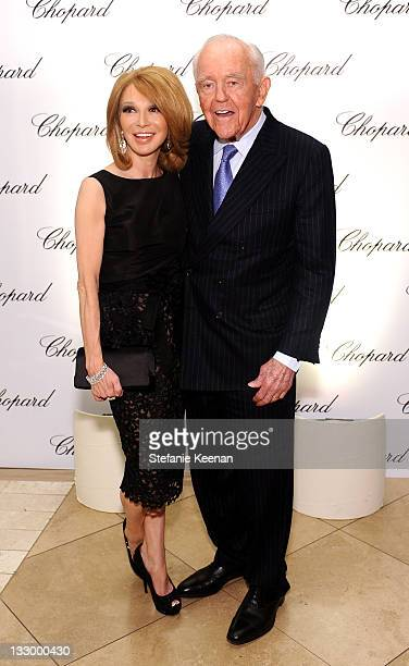 Elizabeth Segerstrom and Henry Segerstrom attend attend Chopard celebrates reopening of South Coast Plaza boutique hosted by Marc Hruschka and...