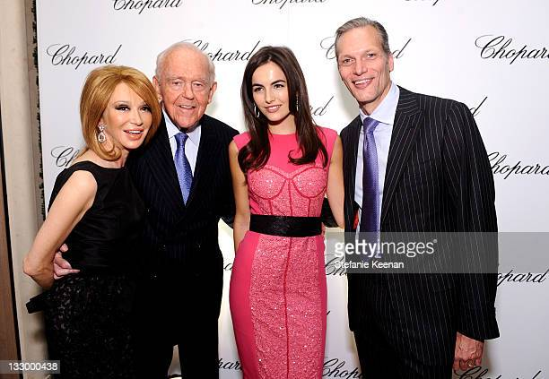 Elizabeth Segerstrom Henry Segerstrom and Camilla Belle attend Chopard celebrates reopening of South Coast Plaza boutique hosted by Marc Hruschka and...