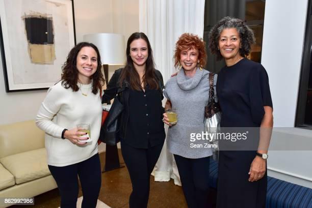 Elizabeth Sesser Patricia Cassidy Gail ShieldsMiller and Angela Brown attend Tom Faulkner at Angela Brown Ltd on October 18 2017 in New York City