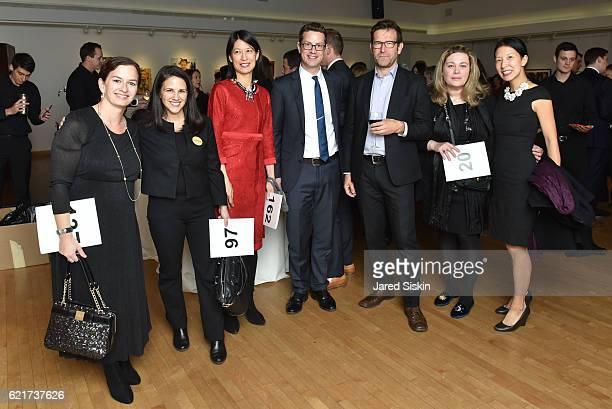Elizabeth Seth, Lauren McGrail, Jennifer Wu, Peter Wu-Buchenholz, Harry Zernike and Nicole Buchenholz attend the Association to Benefit ChildrenÕs...