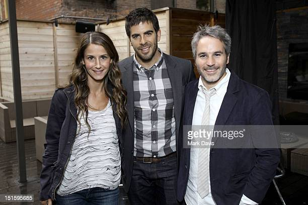 Elizabeth Shaffer Actor/filmmaker Eli Roth and Producer Jeff Abramson attend Canon Celebrates the Art of Cinematography at TIFF Hosted by Eli Roth...